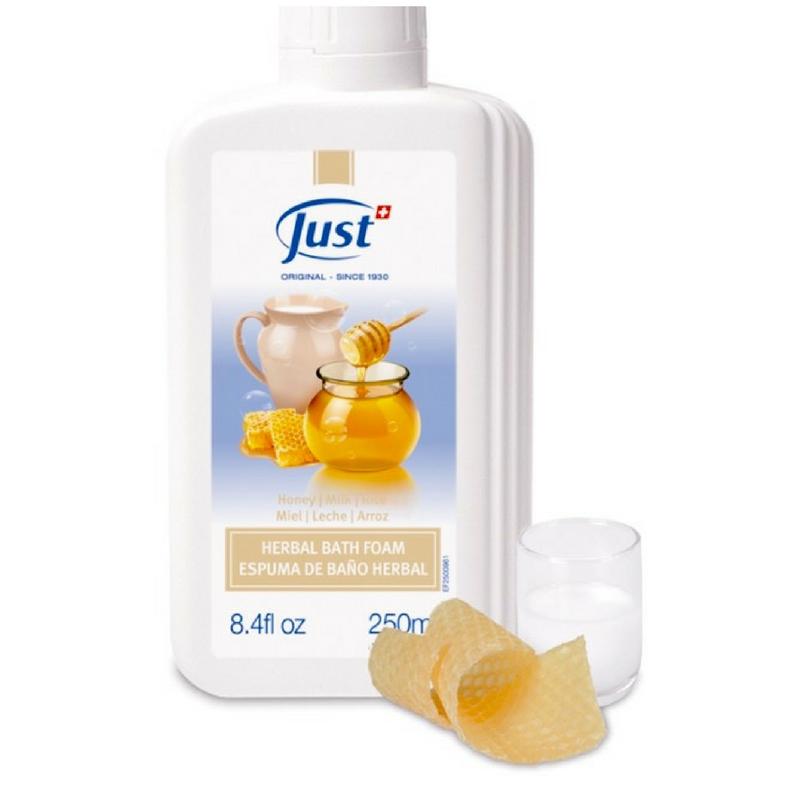 Ba o de espuma de leche miel y arroz ba o humectante y - Bano de leche ...