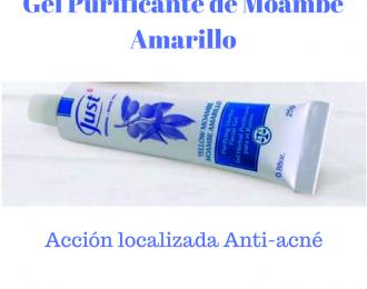 Gel Purificante de Moambe Amarillo-línea anti-acné